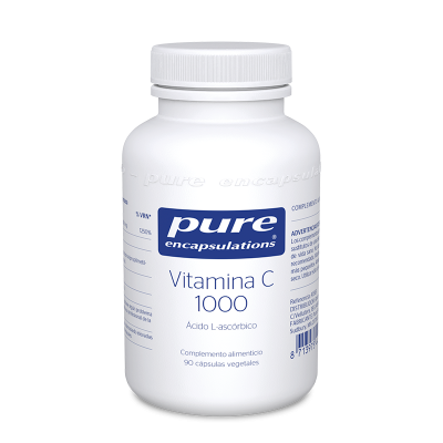 PURE ENCAPSULATIONS VITAMINA C 1000 MG. 90 CAPS.