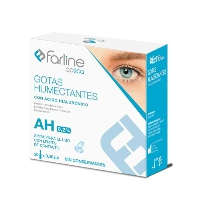 FARLINE OPTICA GOTAS HUMECTANTES 0.2% AHIALURONI