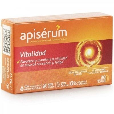 APISERUM VITALIDAD 30 CAP