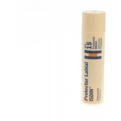 PROTECTOR LABIAL ISDIN TRANSPARENTE FACTOR 15 4