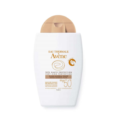AVENE FLUIDO MINERAL SPF 50+ COLOR 40 ML