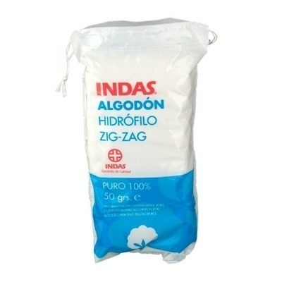 ALGODON ZIG-ZAG PURO INDAS 50 G
