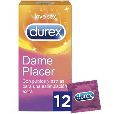 DUREX DAME PLACER PRESERVATIVOS 12 UNIDADES
