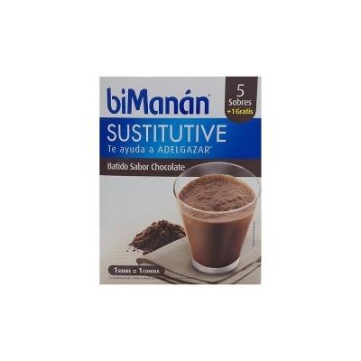 BIMANAN BATIDO CHOCOLATE 250 G 50 G X 6UNIDADES