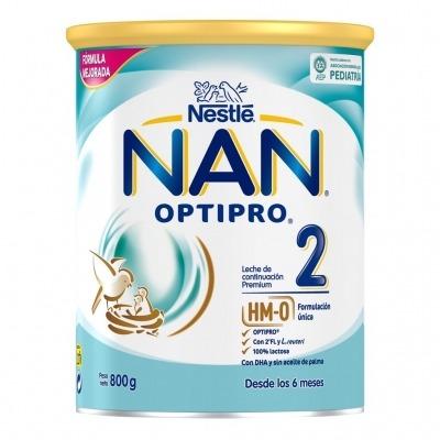 NAN OPTIPRO 2 LECHE DE CONTINUACION 800 G