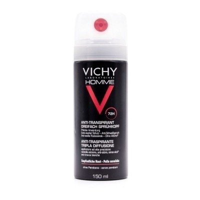 VICHY HOMME DEO SPRAY 72H TRIPLE