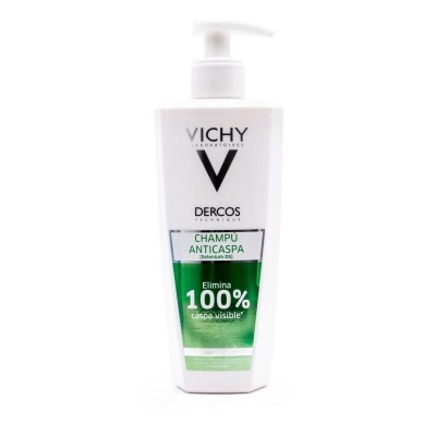 DERCOS TECHNIQUE ANTICASPA CHAMPU GRASO 400 ML
