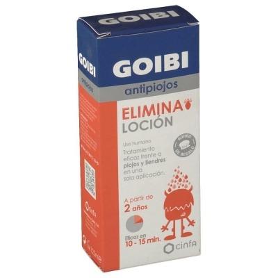 GOIBI ANTIPIOJOS ELIMINA LOCION 125 ML