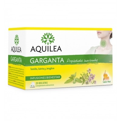 AQUILEA GARGANTA 1.2 G 20 BOLSITAS