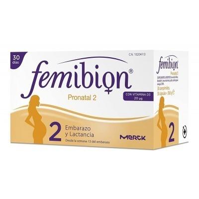 FEMIBION PRONATAL 2 30 COMPRIMIDOS Y 30 CÁPSULAS