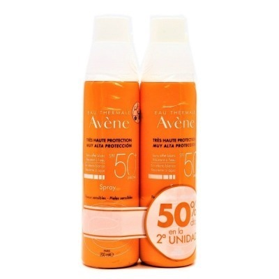 AVENE SPRAY 50+ 200 ML.DUPLO.