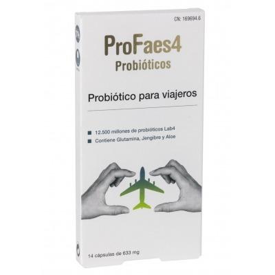 PROFAES4 PROBIOTICO PARA VIAJEROS CAPSULAS 14 CÁPSULAS