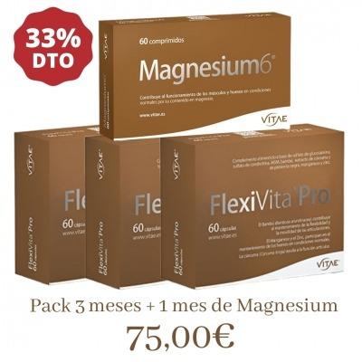 FLEXIVITA PRO 3 PACK + MAGNESIO