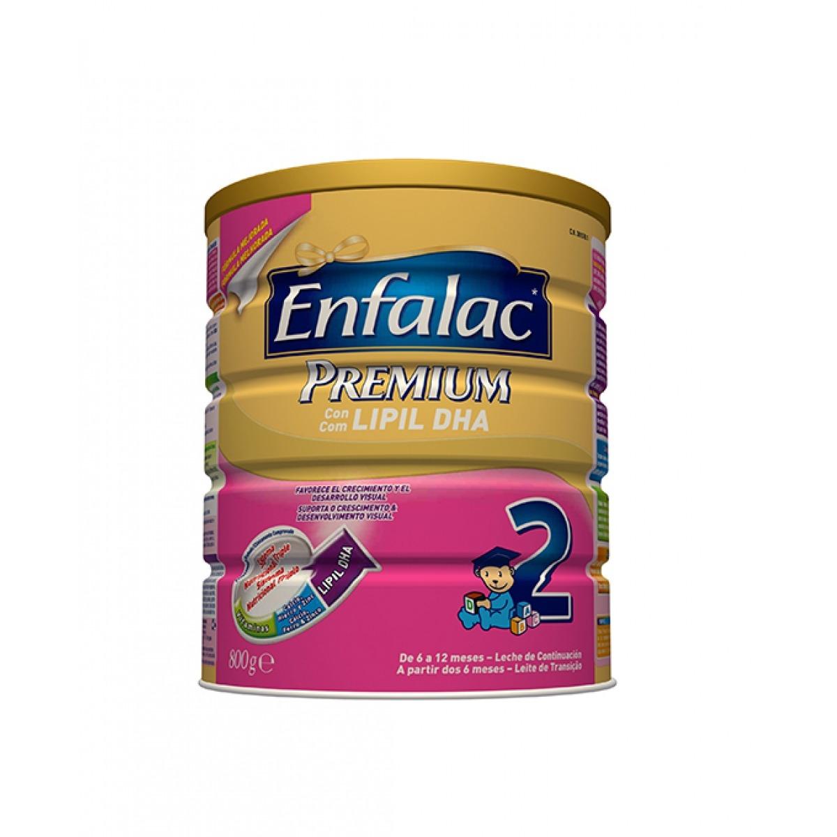 ENFALAC 2 PREMIUM LECHE DE CONTINUACIN 800 G.