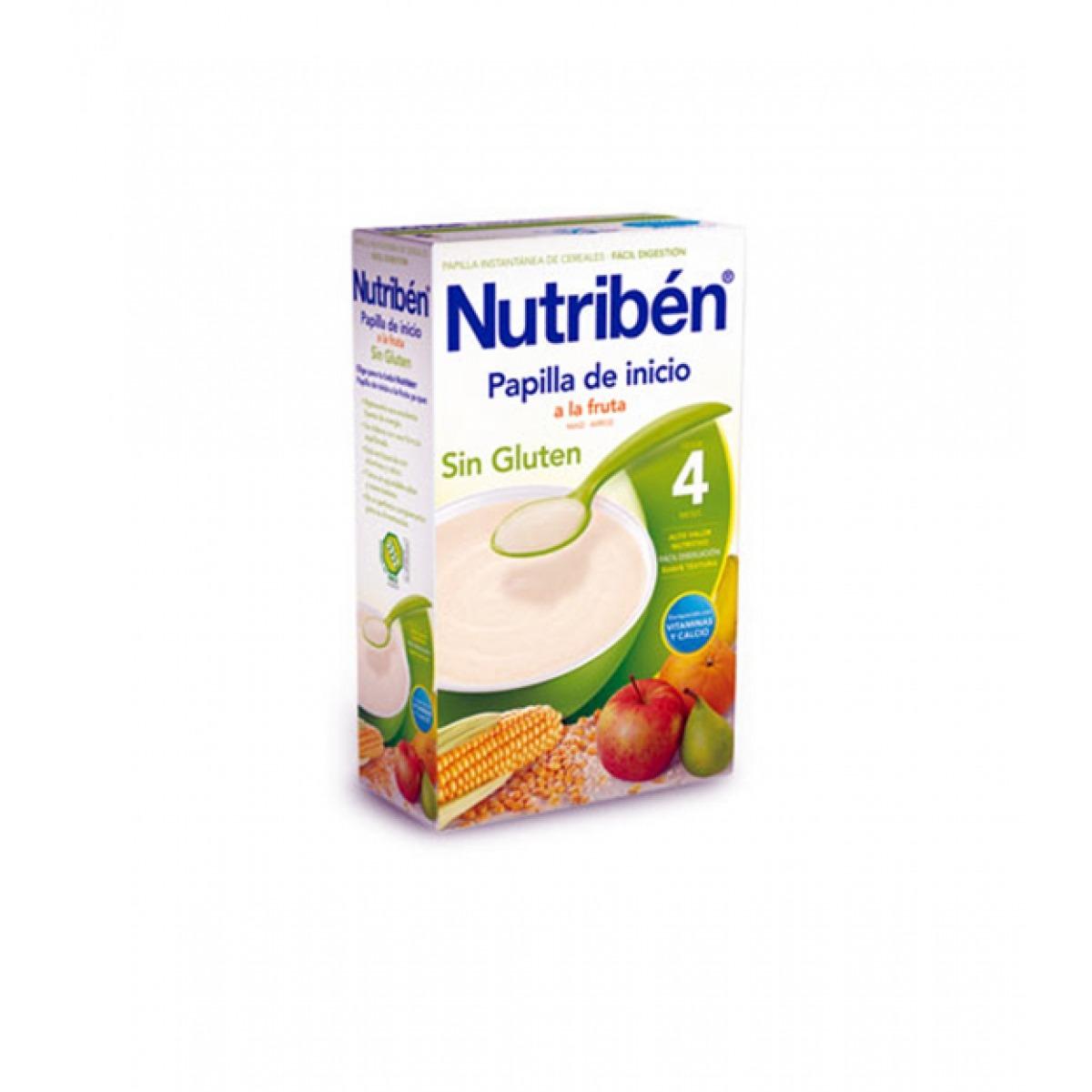 NUTRIBEN PAPILLA DE INICIO A LA FRUTA 300 G.