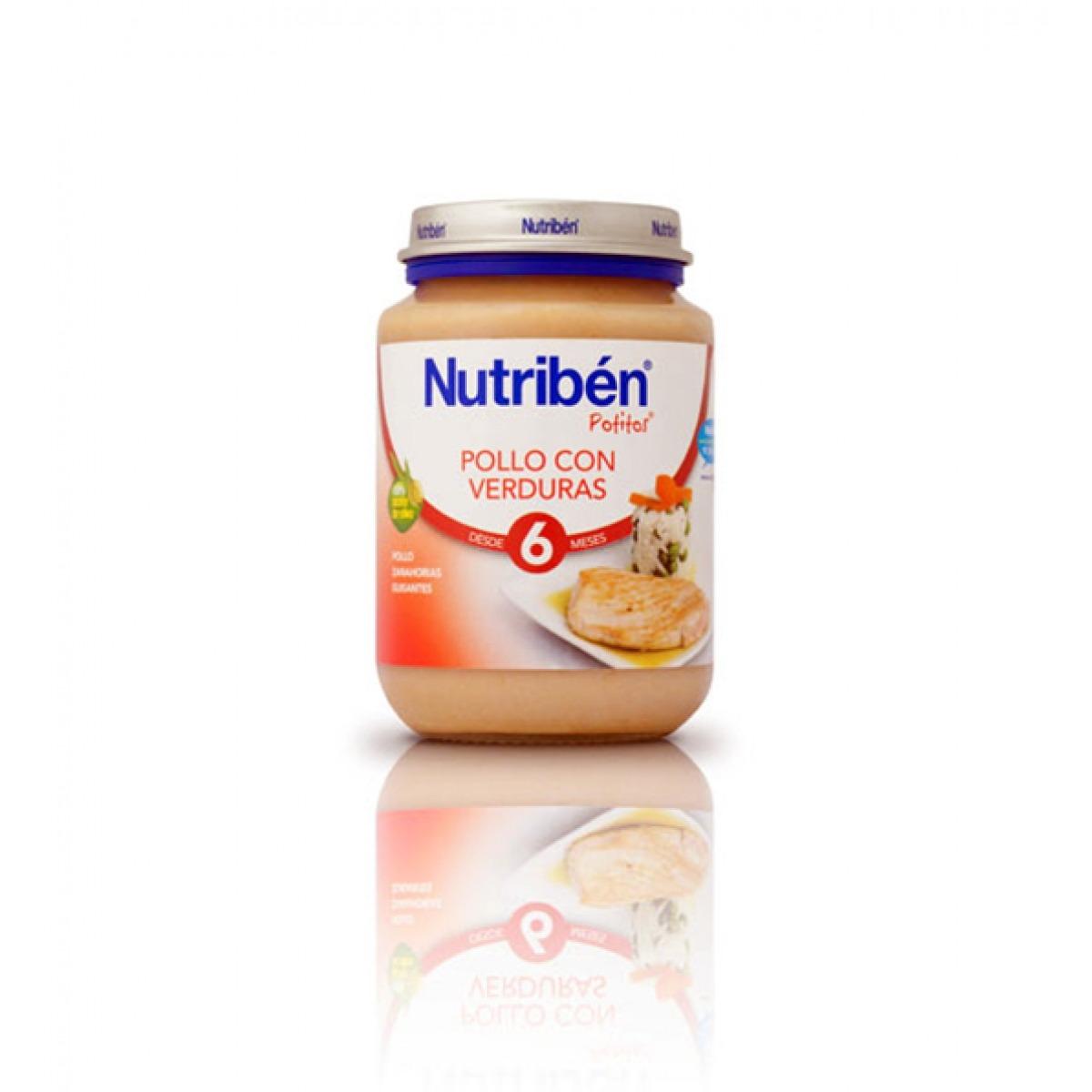 NUTRIBEN POLLO CON VERDURAS 200 G.