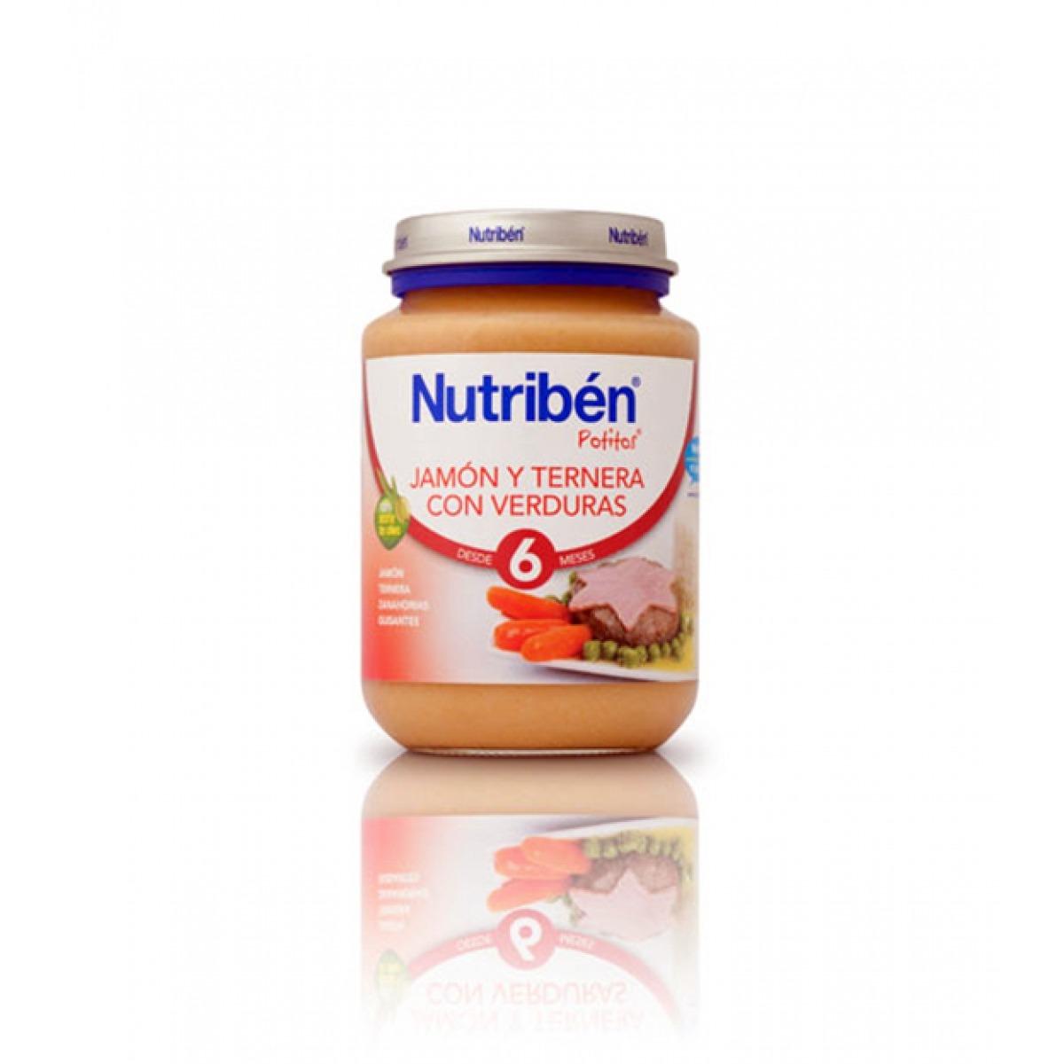 NUTRIBEN JAMN, TERNERA Y VERDURAS 200 G.