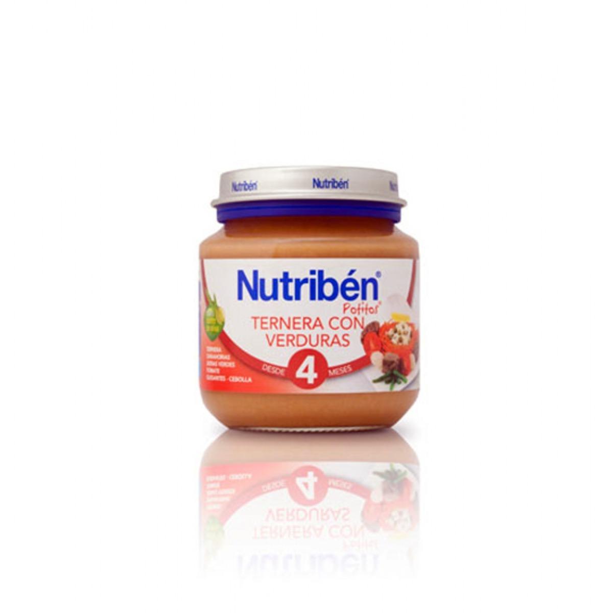 NUTRIBEN TERNERA CON VERDURAS 130 G.