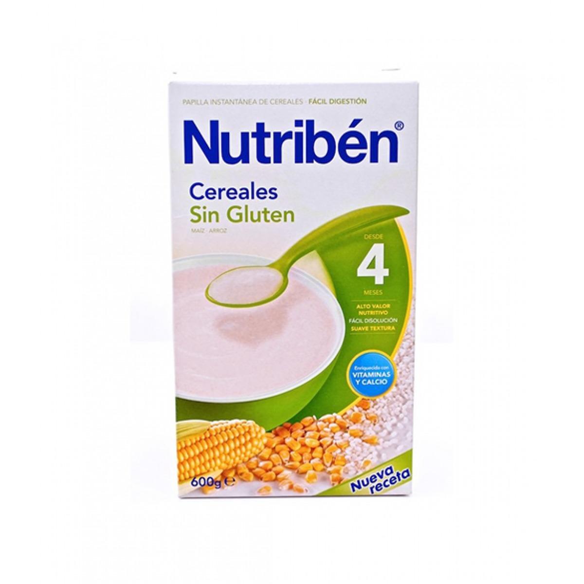 NUTRIBEN PAPILLA INICIO PARA EL BIBERN 600 G.