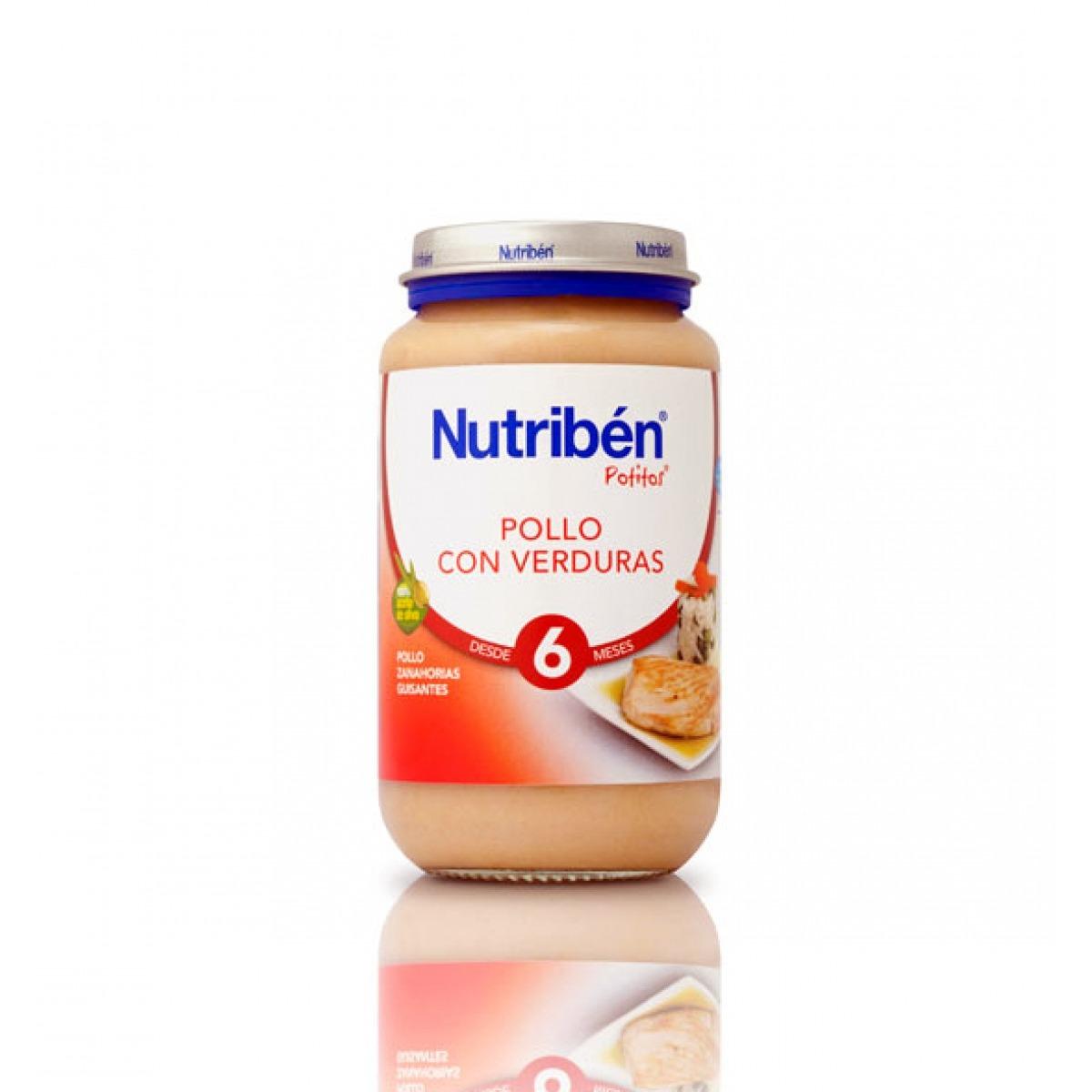 NUTRIBEN POLLO CON VERDURAS 250 G.