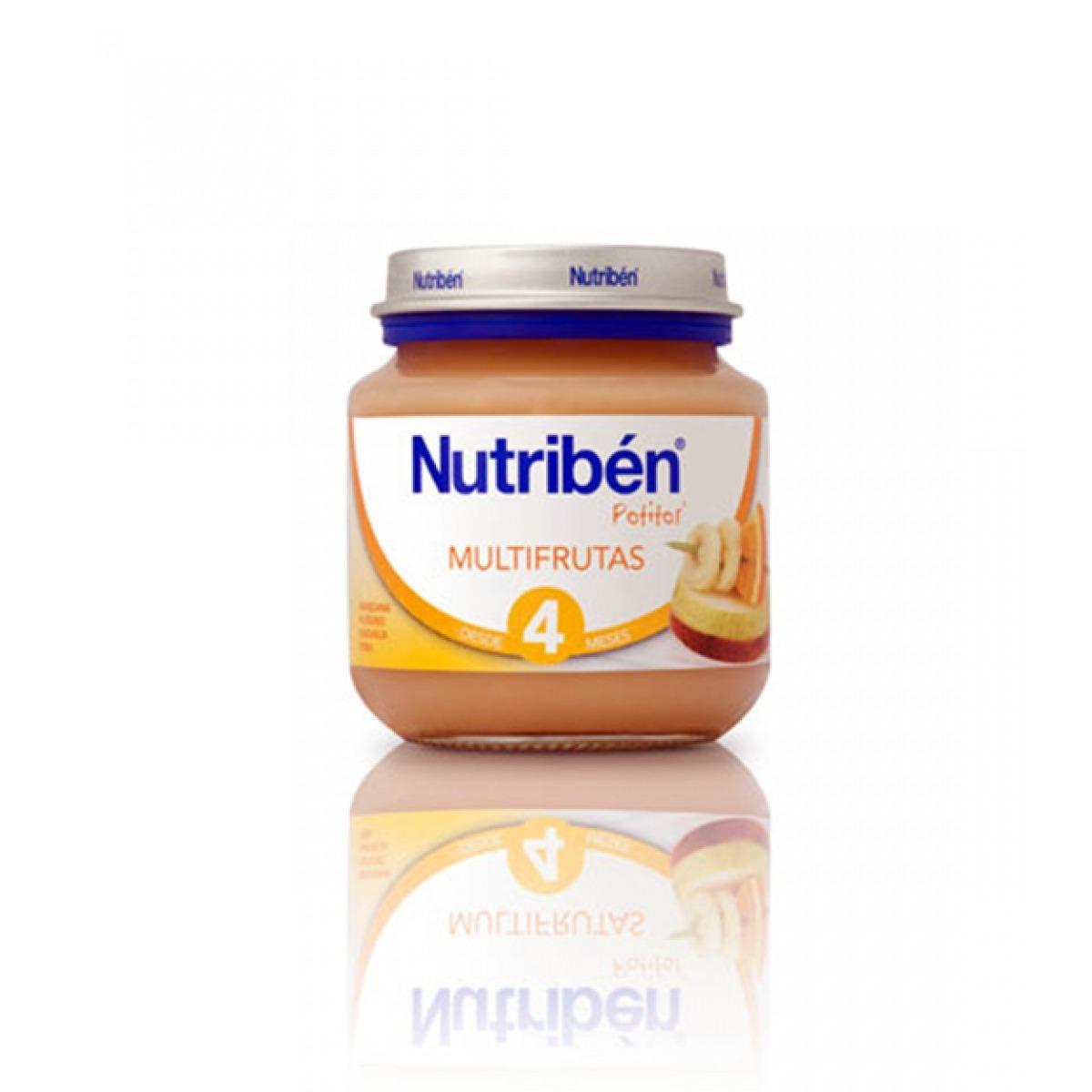 NUTRIBEN POTITO MULTIFRUTAS 130 G.