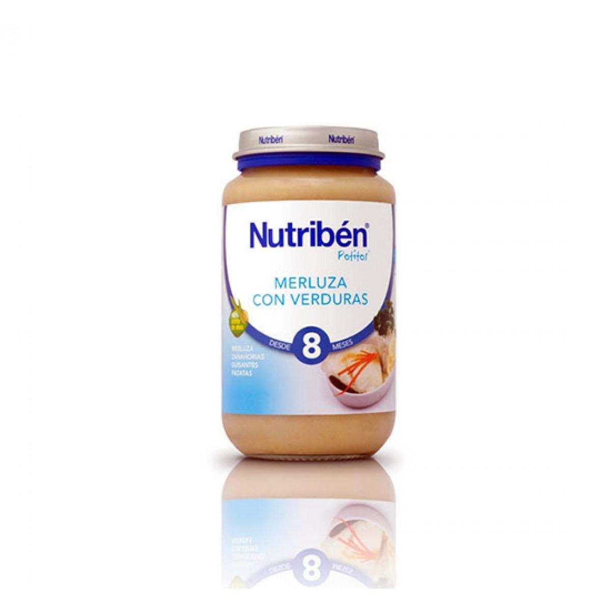 NUTRIBEN MERLUZA CON VERDURAS 250 G.