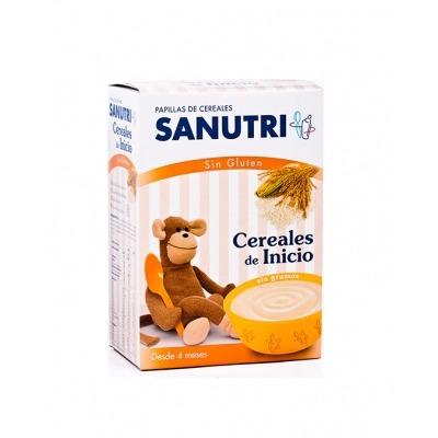SANUTRI CEREALES SIN GLUTEN DE INICIO 600 G.