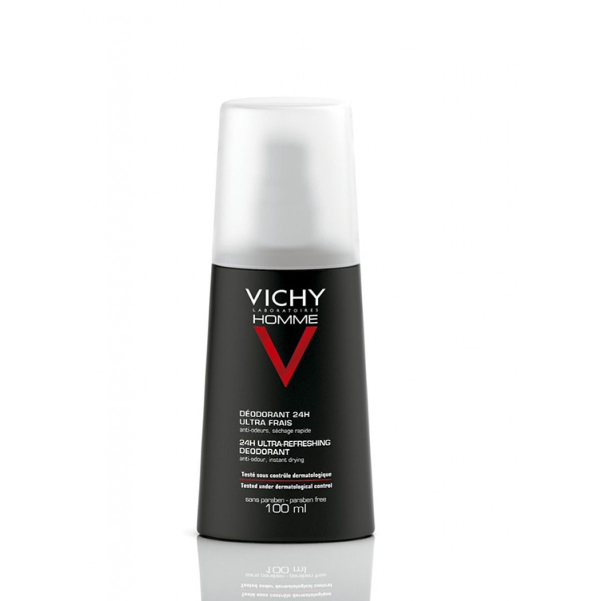 VICHY HOMME DESODORANTE SPRAY ULTRA FRESCO 100 M