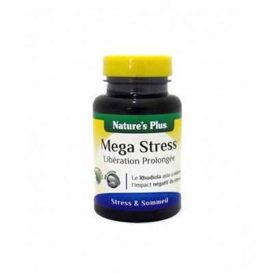 NATURES PLUS MEGA STRESS 30 COMPRIMIDOS LIBERACIN PROLONGADA.
