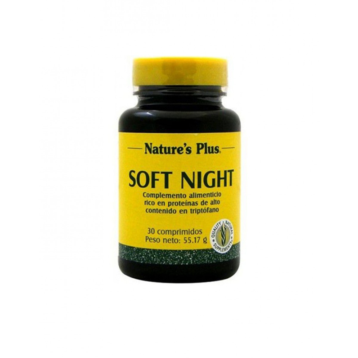 NATURES PLUS SOFT NIGHT 30 COMPRIMIDOS.