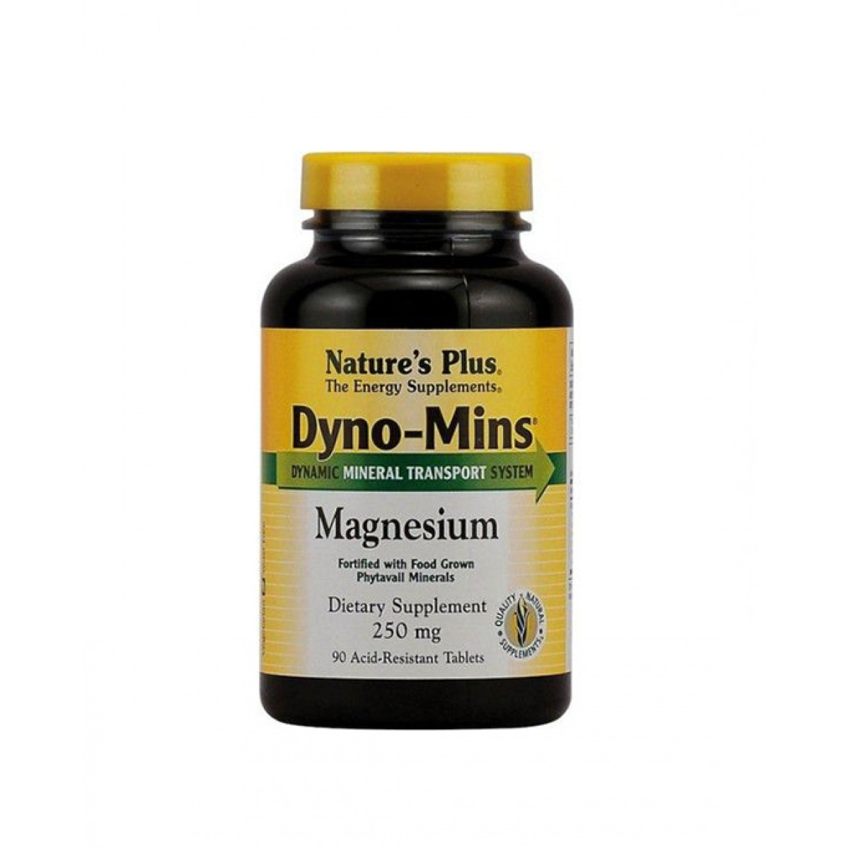 NATURES PLUS DYNO MINS MAGNESIO 300 MG 90 COMPRIMIDOS.