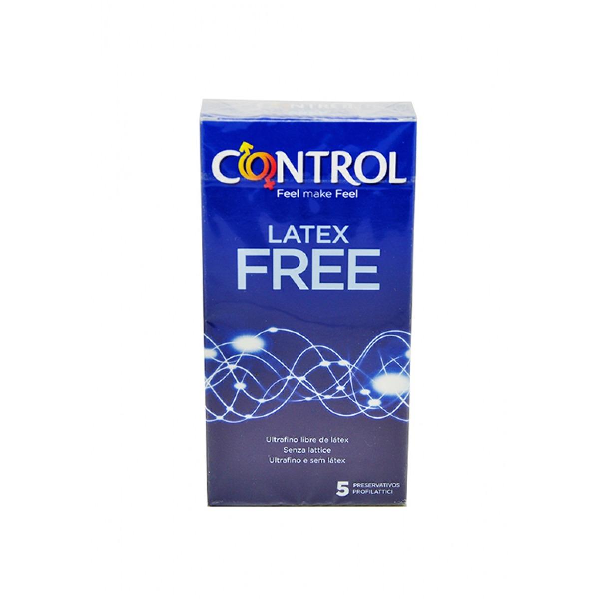 CONTROL SIN LATEX PRESERVATIVOS 5 UNIDADES.
