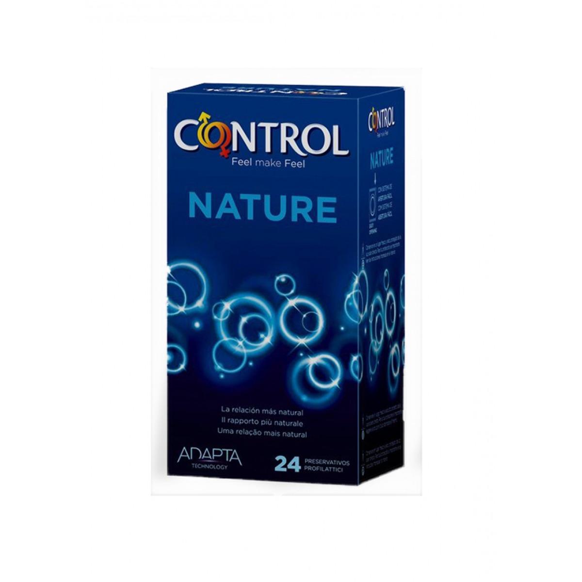 CONTROL NATURE PRESERVATIVOS 24 UNIDADES.