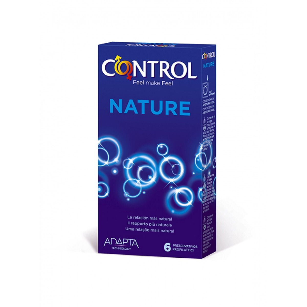 CONTROL ADAPTA NATURE 6 UNIDADES