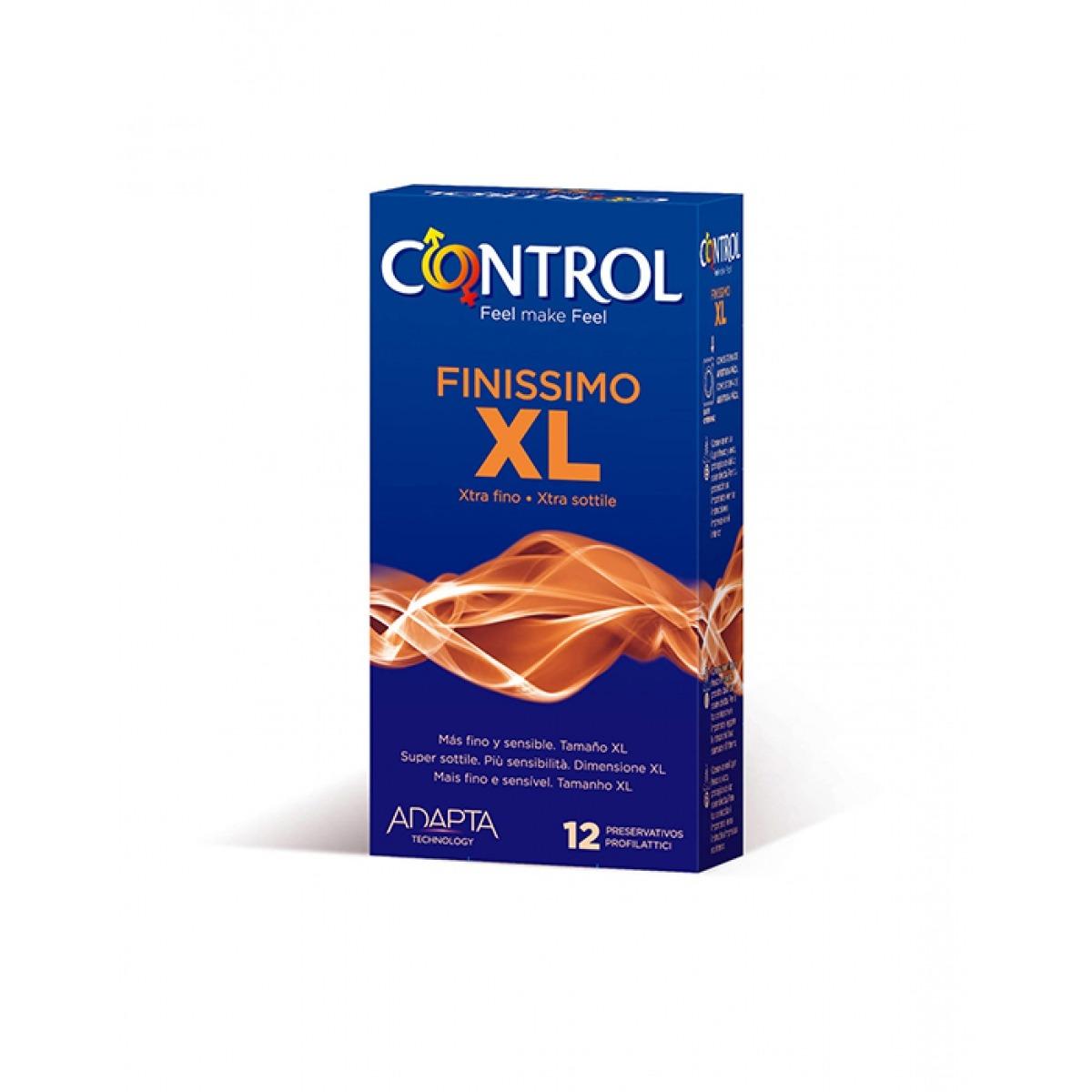 PRESERVATIVOS CONTROL FINISSIMO XL 12 UNIDADES