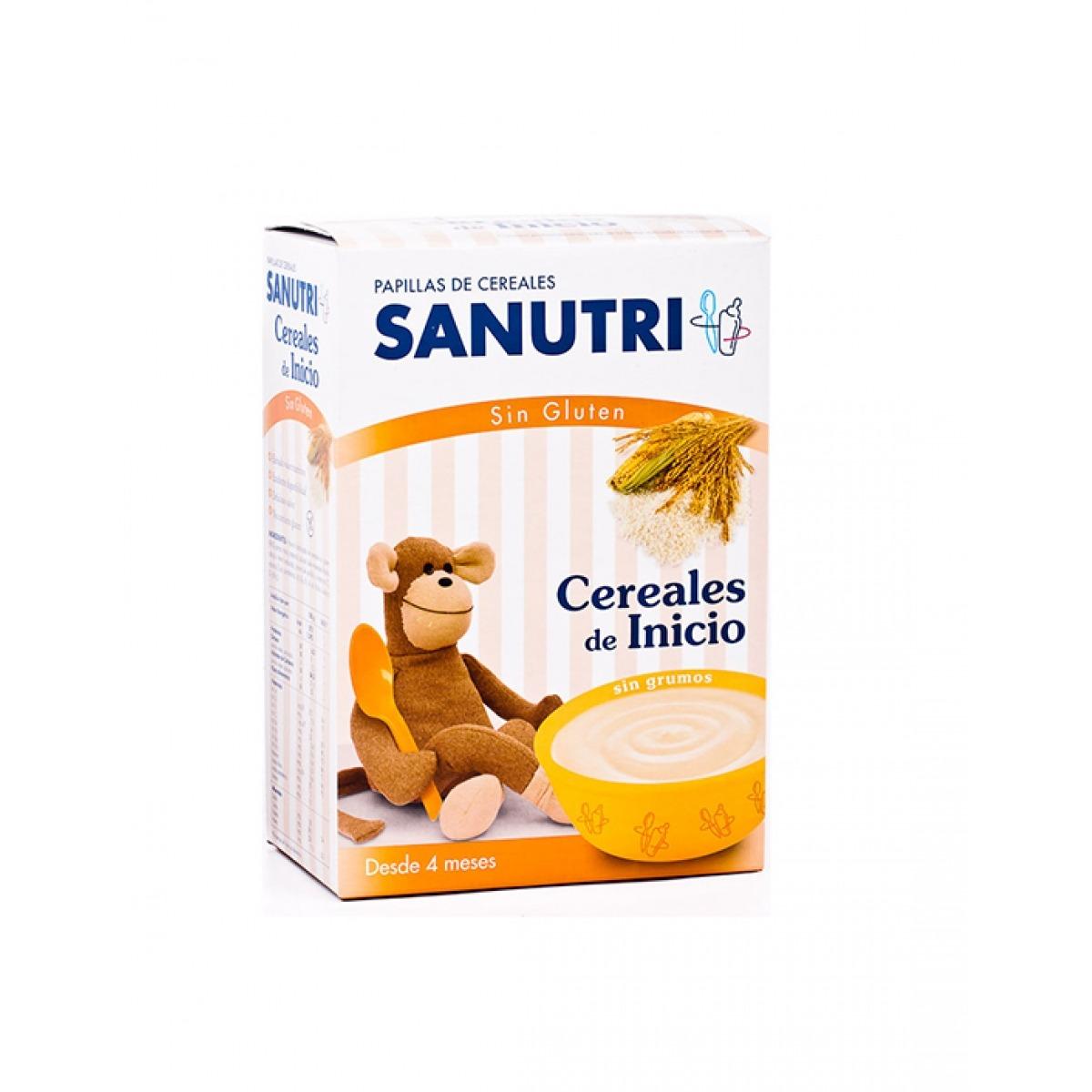 SANUTRI CEREALES SIN GLUTEN DE INICIO CON FOS 600 G.