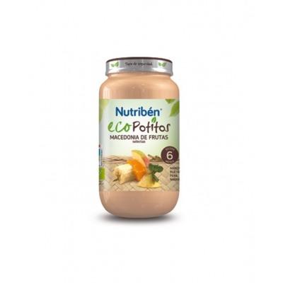 NUTRIBEN ECOPOTITOS MACEDONIA DE FRUTAS SELECTAS 250 G.