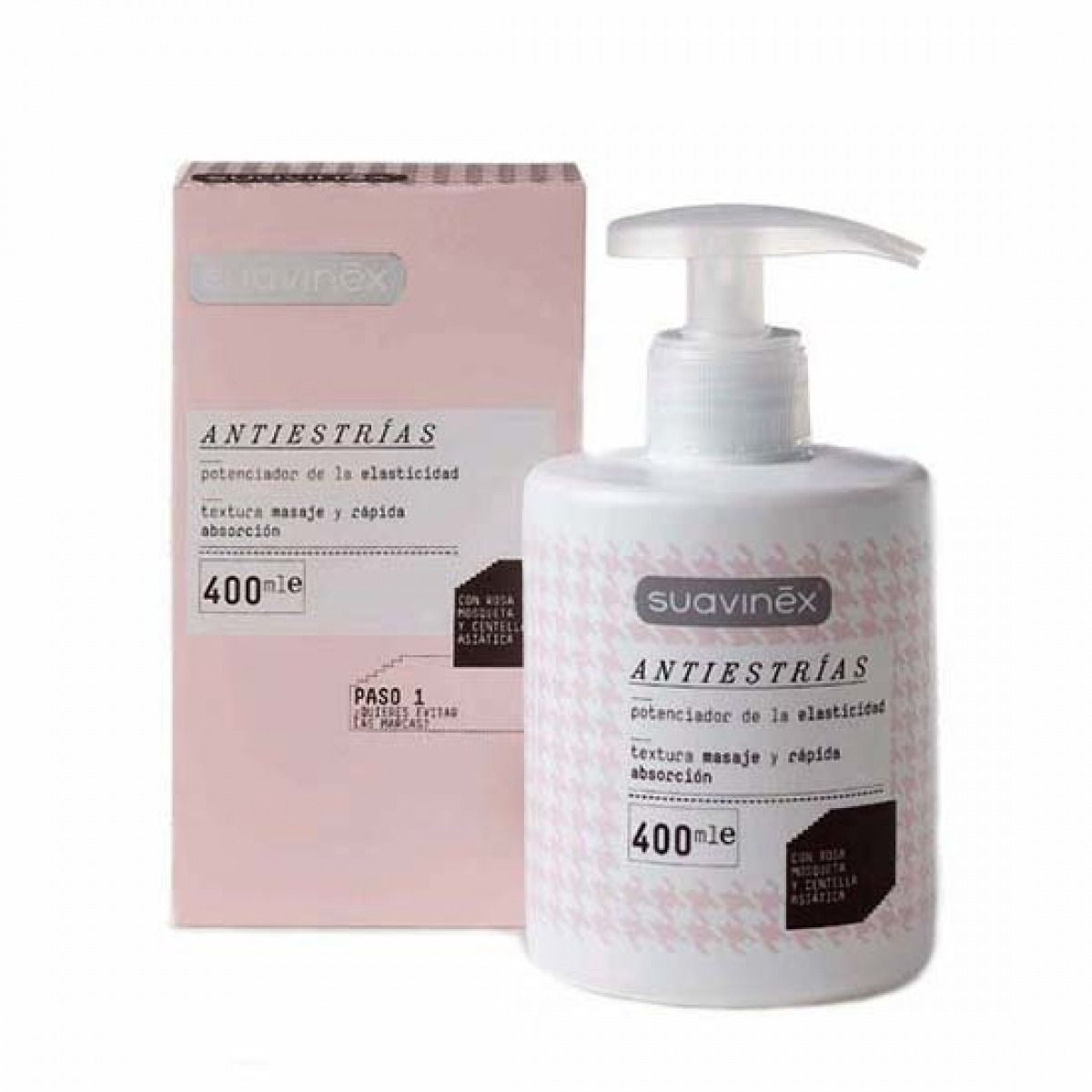SUAVINEX ANTIESTRAS 400 ML.