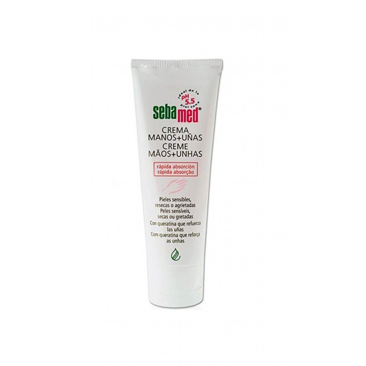 SEBAMED CREMA DE MANOS Y UAS 75 ML.