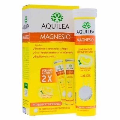 AQUILEA MAGNESIO 28 COMPRIMIDOS EFERVESCENTES 375 MG