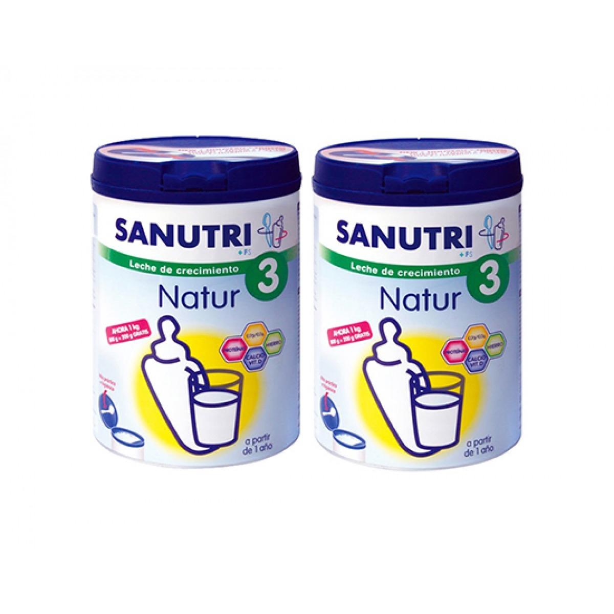 SANUTRI NATUR 3 CRECIMIENTO 800 G. PACK AHORRO. OFERTA WEB