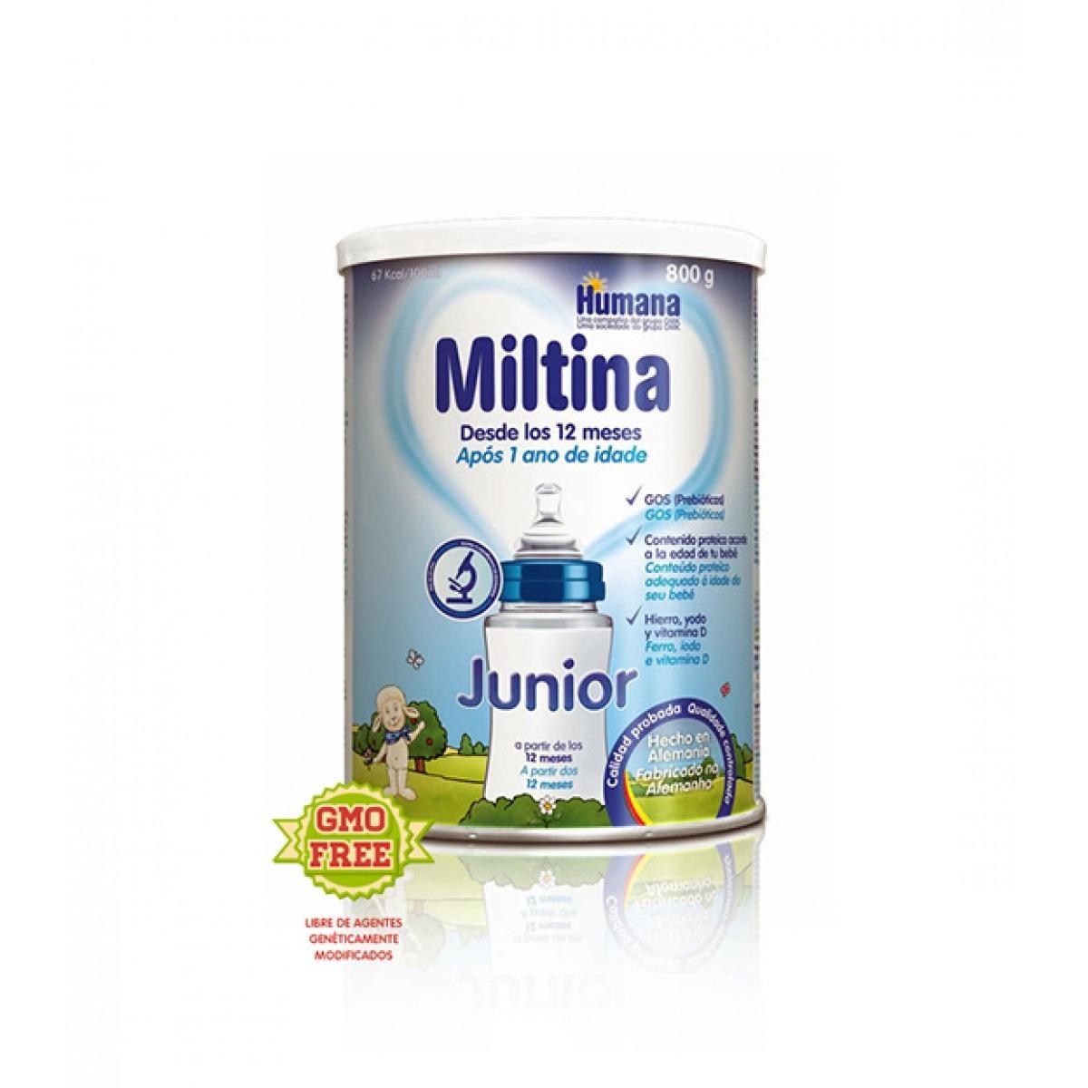MILTINA JUNIOR 800 G.