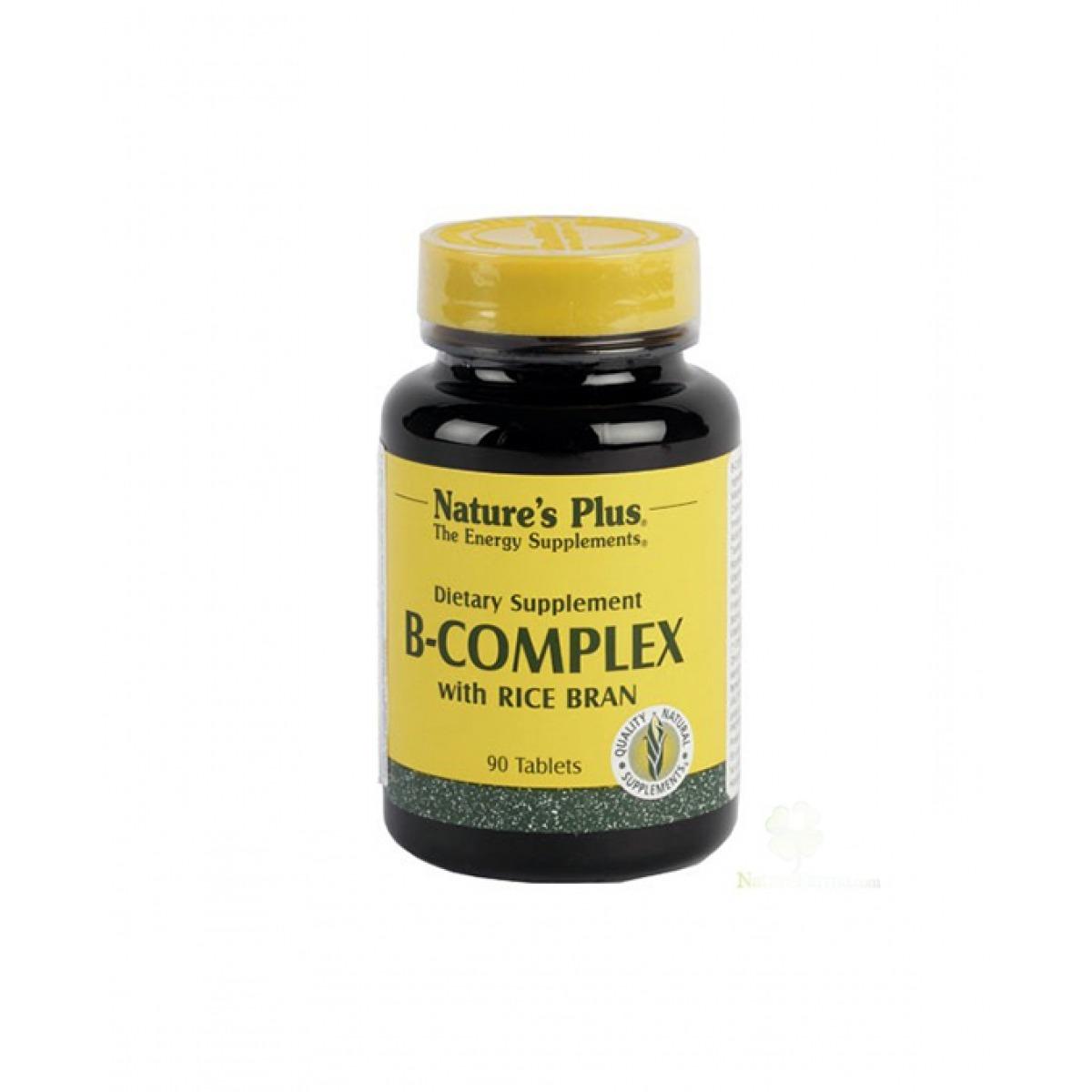 NATURES PLUS B COMPLEX 90 COMPRIMIDOS.