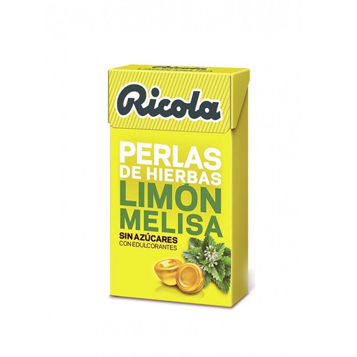 RICOLA PERLAS LIMON MELISA