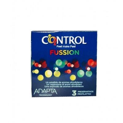 CONTROL FUSSION 3 PRESERVATIVOS