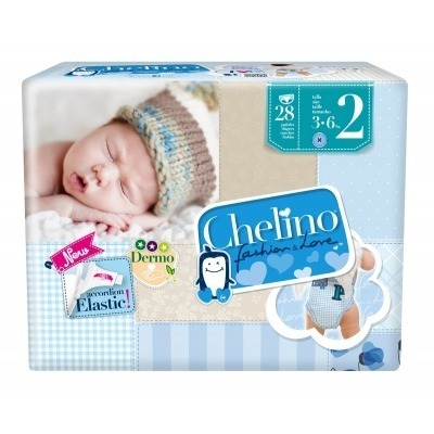 CHELINO FASHION & LOVE PAÑAL INFANTIL T- 2 (3 -