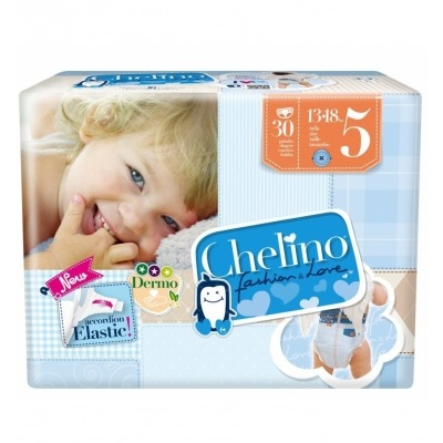 PAÑAL INFANTIL CHELINO FASHION & LOVE T- 5 (13 -