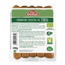Frankfurt vegetal de Tofu 200gr Natursoy