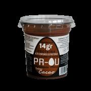 Tarrina clara de huevo cacao sin gluten 120gr Prou