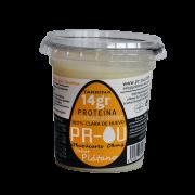Tarrina clara de huevo platano sin gluten 120gr Prou